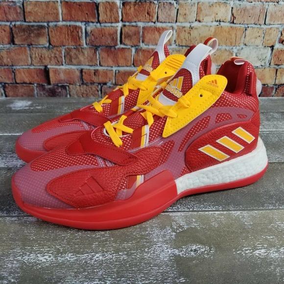 Adidas ZoneBoost Collegiate Red Atlanta Hawks